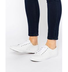Fred Perry Spencer White Leather Trainers