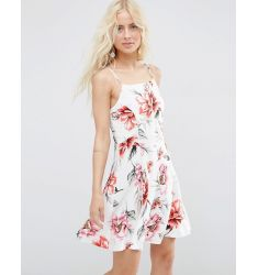 ASOS Sundress in Tropical Floral Print