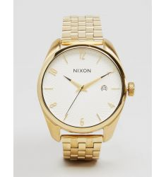 Nixon Gold Bullet Bracelet Watch A418-508
