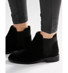 ASOS AMERICAN Suede Chelsea Boots