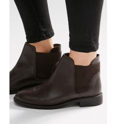 ASOS AMERICAN Leather Chelsea Boots