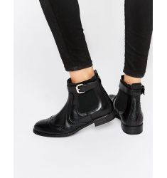 Carvela Slow Brogue Chelsea Boots