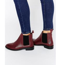 Faith Binky Leather Chelsea Boots