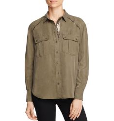 Free People Off-Campus Cargo Shirt