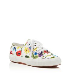 Superga Fanrasow Classic Floral Lace Up Sneakers