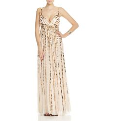 Free People Only In Dreams Party Sequin Gown