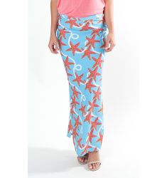 50+ UPF Sun Protection Carlyle Ave Maxi Skirt