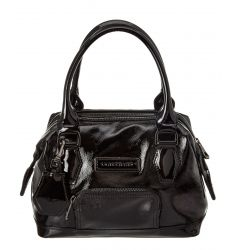 Longchamp Legende Verni Leather Satchel