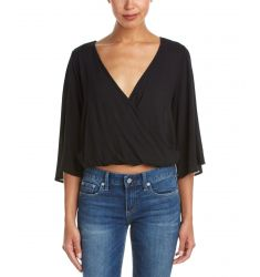 On Twelfth Dolman Sleeve Back Detail Top