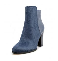 Cole Haan Zandra Bootie Women  Pointed Toe Suede Blue Ankle Boot