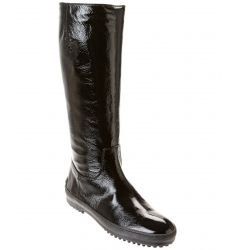 TOD's Patent Tall Boot