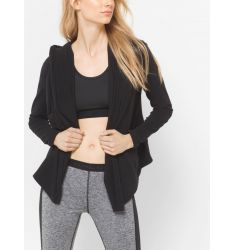 Active Stretch-Jersey Hoodie