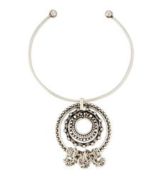 Corona Pendant Collar Necklace