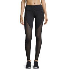 Motion Mesh-Panel Sport Leggings