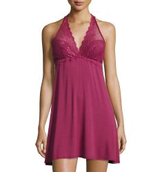 Forever Yours Lace-Trim Chemise