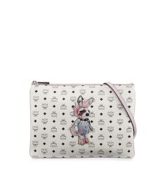 Rabbit Pouch Medium Crossbody Bag, White