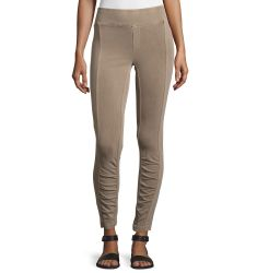 Benatar Ruched Ankle Ponte Leggings