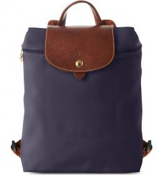 Le Pliage backpack  Le Pliage small handbag Le Pliage medium travel bag in myrtille Le Pliage medium