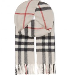 Giant check cashmere scarf  Giant check silk and wool blend scarf Polka dot & striped silk scarf Dye