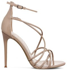 Angel patent strappy sandals  Nostalgia patent-leather heeled sandals Nostalgia patent-leather heele