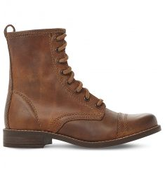 Charrie leather biker boots