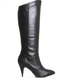 Kiss knee-high leather boots  Kendrick knee-high suede boots Know It All suede knee-high boots Kan K