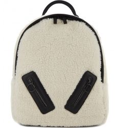 Charlie shearling backpack  Allen backpack Molly bug glitter backpack Charlie mini faux-fur backpack