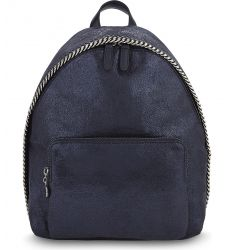 Falabella mini faux-suede backpack  Fallabella mini backpack