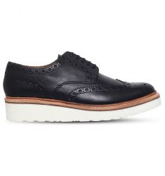 Archie flatform brogues  Grant brogues Almond Derby brogues McClean leather and suede Oxford brogue