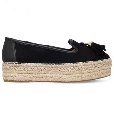 Liberty suede espadrilles  Lionel leather espadrilles Lido flatform suede espadrilles