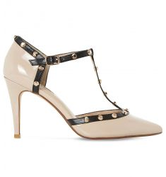 Cliopatra patent-leather courts  Aiyana metallic courts Bindy metallic court shoes Aiyana metallic c