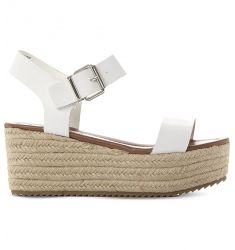 Surfa espadrilles leather platform sandals
