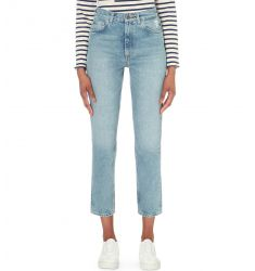 Mimi straight high-rise jeans