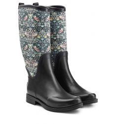 Rubber Reignfall Boots with Printed Shaft