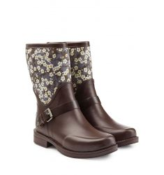 Rubber Sivada Boots with Printed Shaft