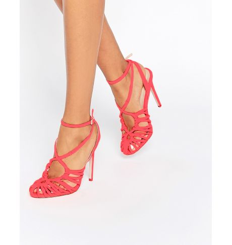 a3d21d1044b ASOS PERRY Caged Heels